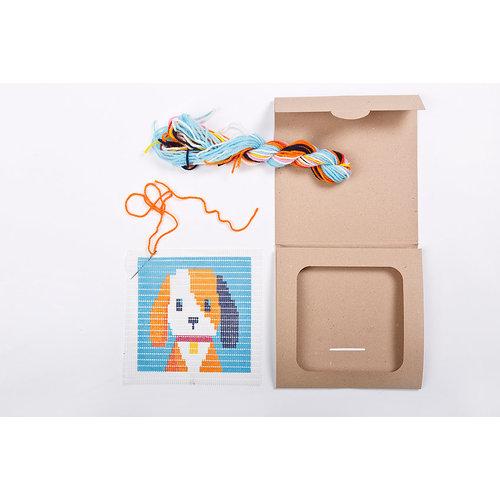 Sozo DIY DIY borduren - kleine hond