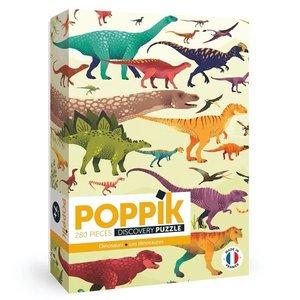 Poppik Puzzel Dinosaurus