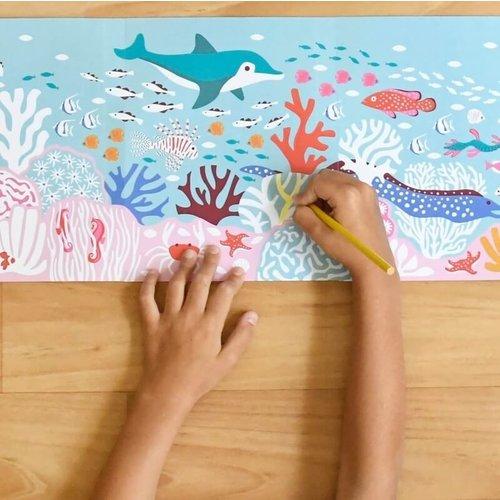 Poppik Poppik kleurplaat Color reef