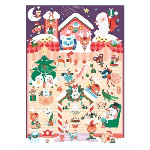 Poppik Poppik Mini kerstmis - advent kalender
