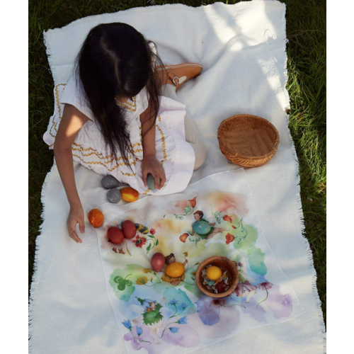 Sarah's Silks speelzijde Sarah's Silks Mini play silk Flower Fairy