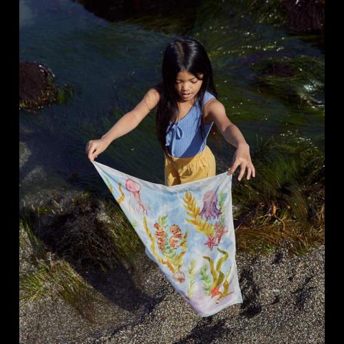 Sarah's Silks speelzijde Mini speelzijde Kelp Forest