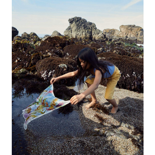 Sarah's Silks speelzijde Sarah's Silks Mini play silk Kelp Forest summer 2021