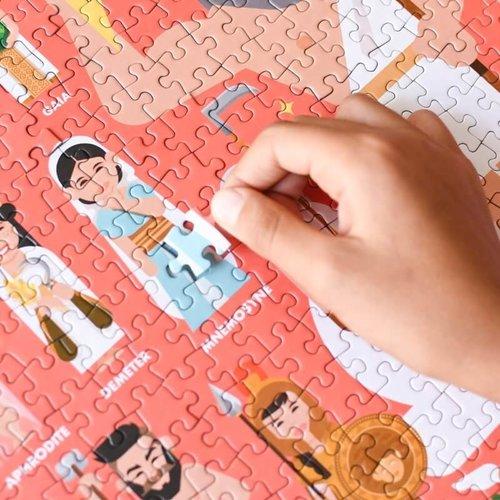 Poppik Poppik Discovery Puzzel Mythologie 1000 stukjes