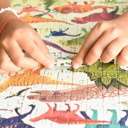 Poppik Puzzel Dinosaurus 280 stukjes