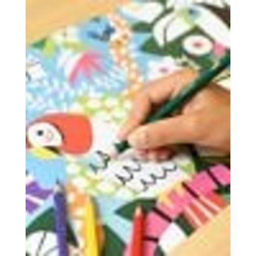 Poppik Poppik kleurrijke jungle