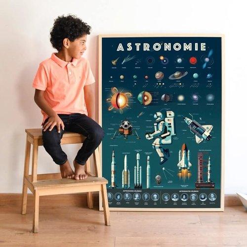 Poppik Poppik Discovery poster Astronomie