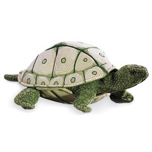 Folkmanis handpoppen en poppenkastpoppen Folkmanis handpop zeeschildpad