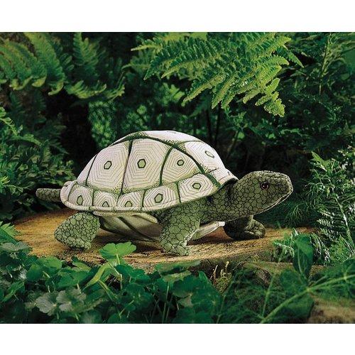 Folkmanis handpoppen en poppenkastpoppen Realistische handpop zeeschildpad