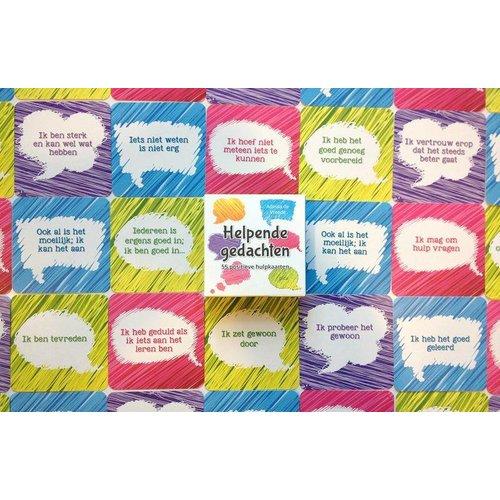 Pica Uitgeverij kinderboeken Helpende gedachten - 55 positieve hulpkaarten