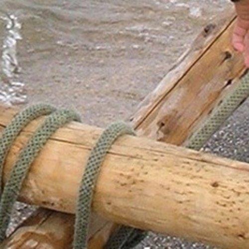 Spelen met takels, katrollen en touwen