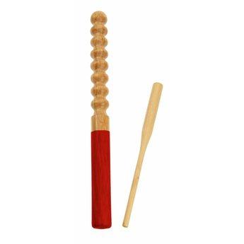 Rattlesnake muziekinstrumenten voor kinderen Ratterstab kinderpercussie begeleidingsinstrument