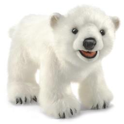 Folkmanis handpoppen en poppenkastpoppen Handpop ijsbeer