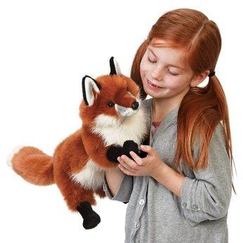 Folkmanis handpoppen en poppenkastpoppen Prachtige handpop vos