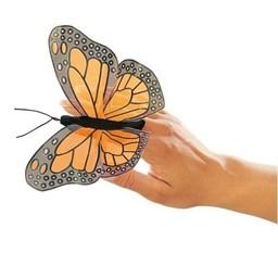 Folkmanis handpoppen en poppenkastpoppen Vingerpopje vlinder