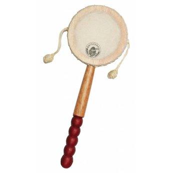 Rattlesnake muziekinstrumenten voor kinderen Handtrommel met twee knoopjes