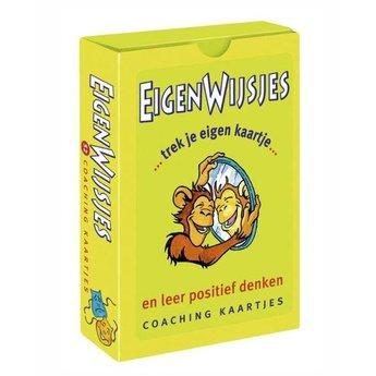 Dubbelzes educatieve spellen Eigenwijsjes, een coachkaartje voor kinderen en volwassenen