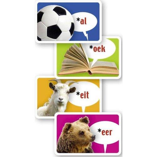 Dubbelzes educatieve spellen Rijmelarij rijmwoordenstrijd - taalspel