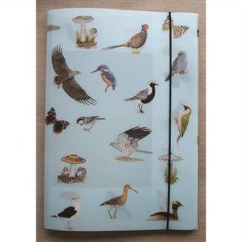 Tringa paintings natuurkaarten 39 herkenningskaarten natuur & opbergmap