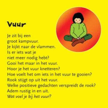 Uitgeverij Ank Hermes kinderboeken Kindermeditatiekaarten - Helen Purperhart
