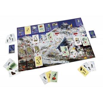 Sunny games - Zonnespel - coöperatieve spellen Mount Everest - bergbeklimmen aan tafel