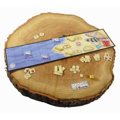 Sunny games - Zonnespel - coöperatieve spellen Zandkastelen - een spannend spel aan zee