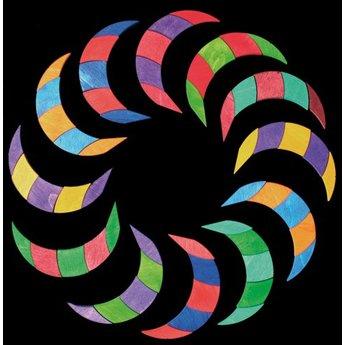 Grimms houten speelgoed Midi Magneetpuzzel kleurenspiraal