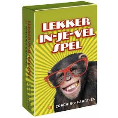 Dubbelzes educatieve spellen  Lekker in je vel  spel - coachkaartjes