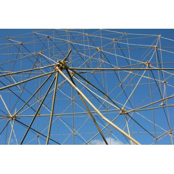 BAMBOX bamboe bouwen Bouwen met bamboe - 500 stuks bamboestokjes 30 cm