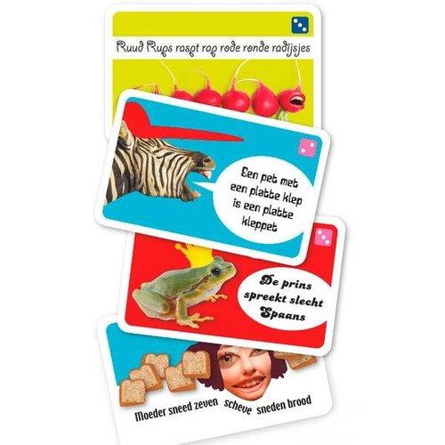 Dubbelzes educatieve spellen Tongbrekers - taalspel voor mondelinge vaardigheid