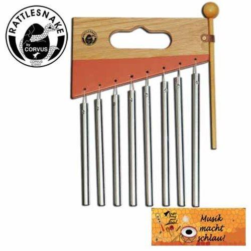 Rattlesnake muziekinstrumenten voor kinderen Klokkenspel Carillon - Chimes