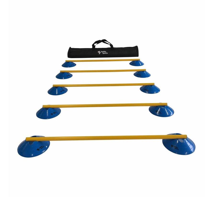 Horden Set - 5 Horden - Blauw