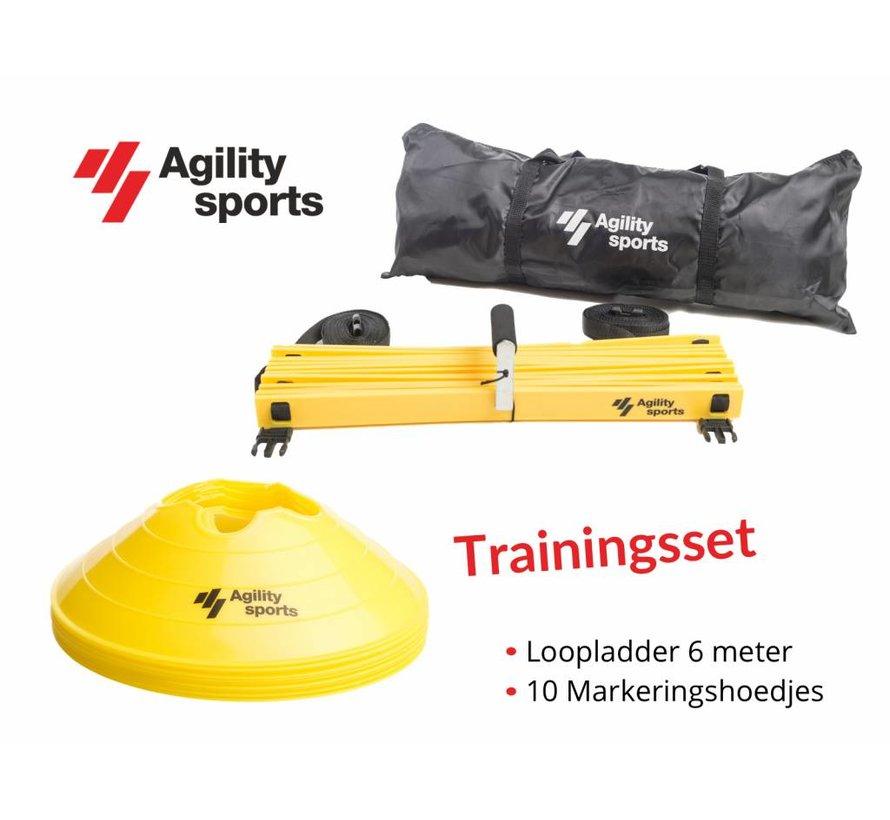 Trainingsset geel