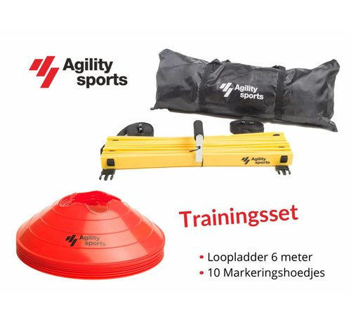 Agility Sports Trainingsset Rood