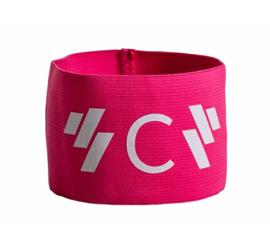 Aanvoerdersband captain 'C' roze