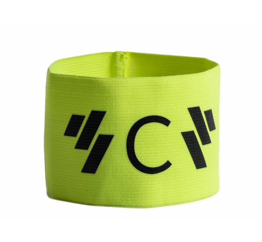 Aanvoerdersband captain 'C' geel