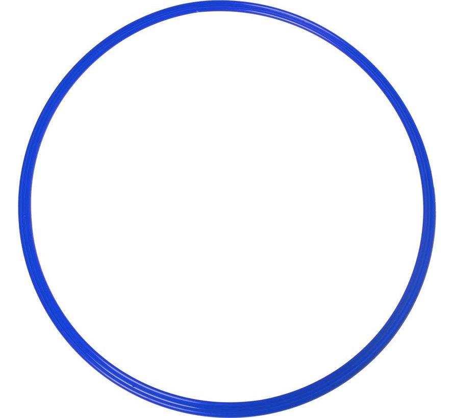 coördinatie hoepel 48 cm blauw 5 stuks