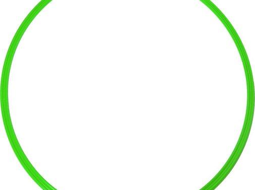Agility Sports coördinatie hoepel 48 cm groen 5 stuks