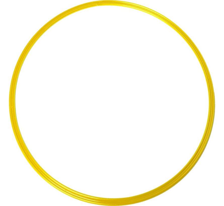 coördinatie hoepel 48 cm geel 5 stuks