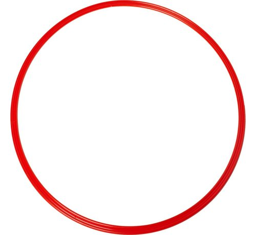 Agility Sports coördinatie hoepel 48 cm rood 5 stuks