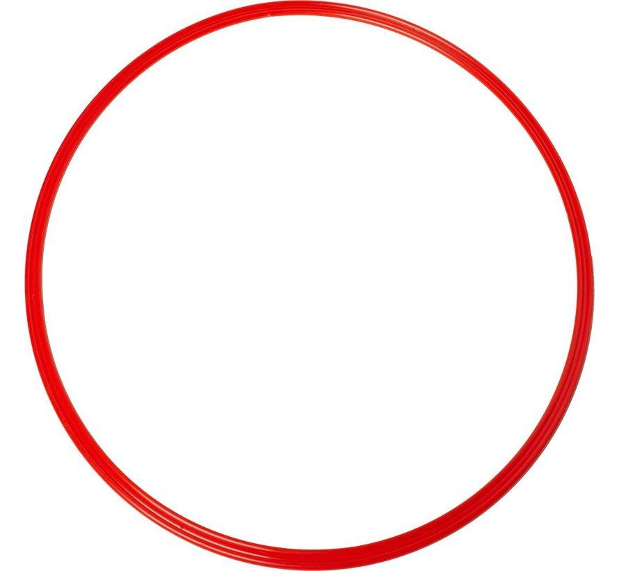 coördinatie hoepel 48 cm rood 5 stuks
