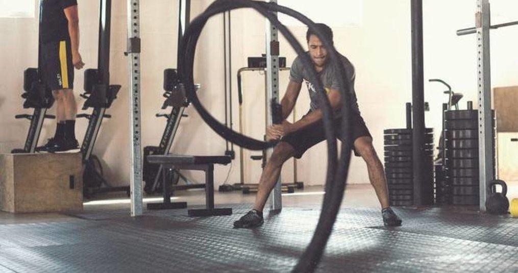 Beginnerstips voor het trainen met een Battle rope/Fitness rope/Fitness touw
