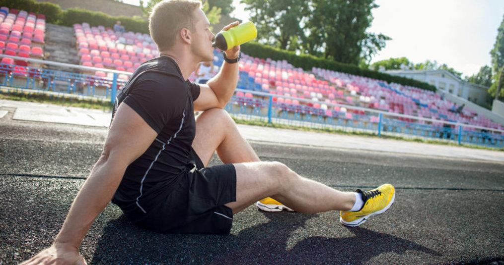 Tips: Voorkom uitdroging tijdens het sporten
