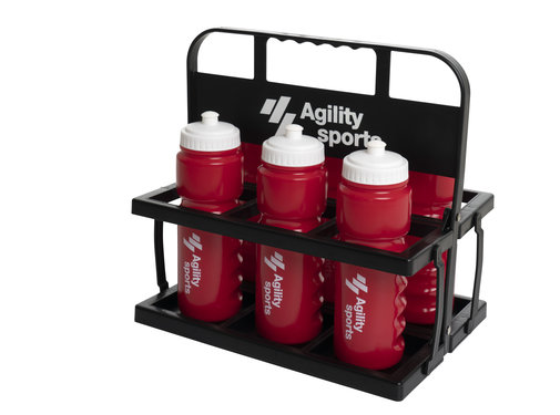 Agility Sports bidonkrat Set - 6 bidons