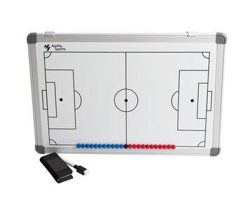 Agility Sports coachbord voetbal 30 X 45 cm