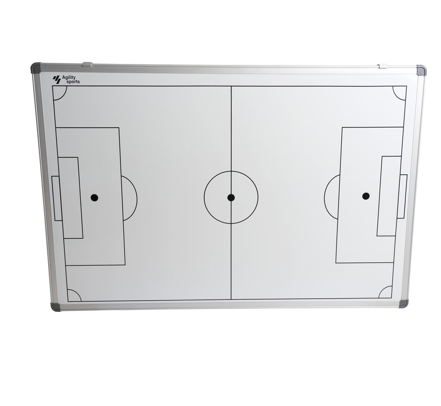 coachbord voetbal 60 X 90 cm Incl genummerde stickers