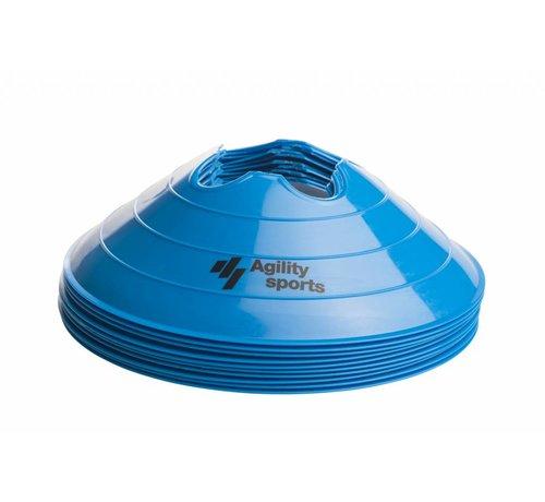 Agility Sports markeringshoedjes blauw