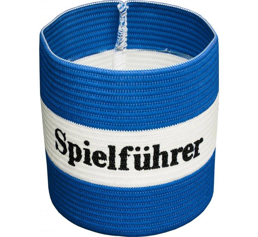 aanvoerdersband 'Spielführer' blauw