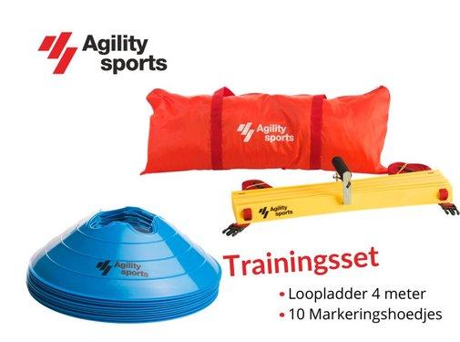 Agility Sports Trainingsset Blauw