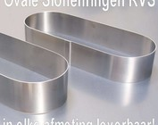Ovale sloffen ring